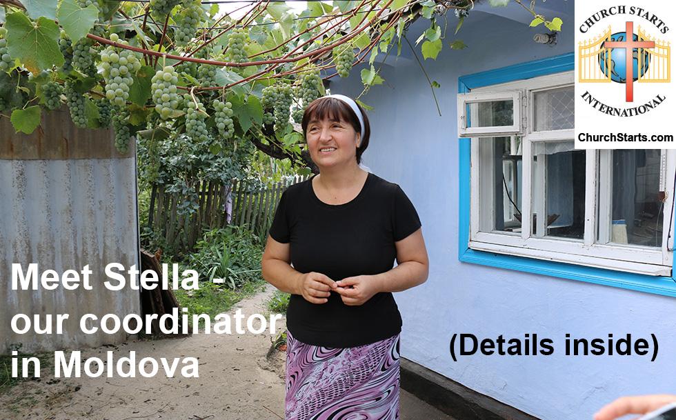 Meet Stella from Moldova